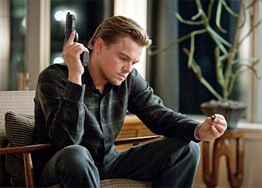A scene from Inception
