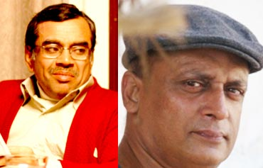 Paresh Rawal and Piyush Mishra