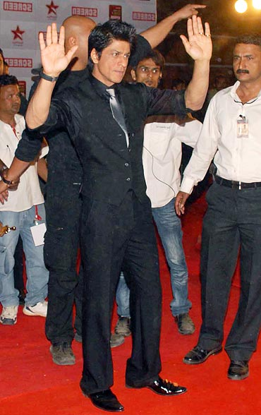 Shah Rukh Khan at the 2011 Star Screen awards