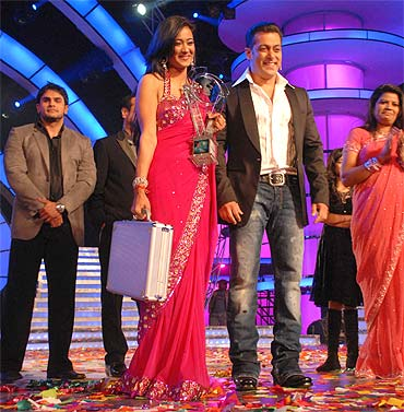 Shweta Tiwari and Salman Khan