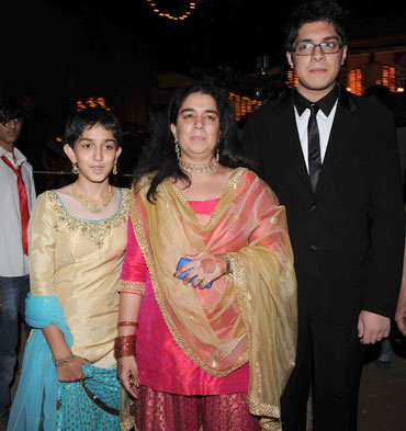 Ira, Reena Dutta and Junaid