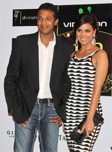 Mahesh Bhupati and Lara Dutta