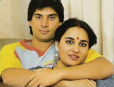 Mohsin Khan and Reena Roy