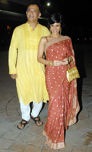 Raj Kaushal and Mandira Bedi