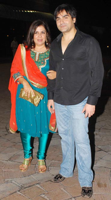 Farah Khan and Arbaaz Khan