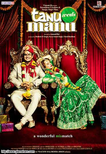 Movie poster of Tanu Weds Manu