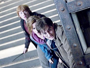 A still from Harry Potter And The Deathly Hallows Part 2