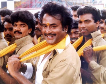 A still from Baasha