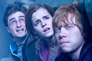 A scene from Deathly Hallows Part 2