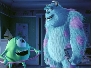 Mike Wazowski and Sully