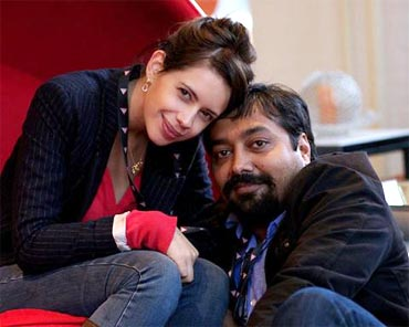 Kalki Kochelin and Anurag Kashyap
