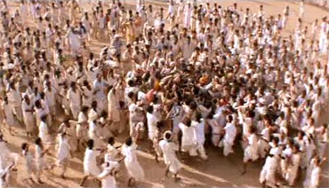 A still from Lagaan