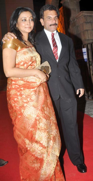 Pawan Malhotra with his wife