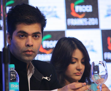 Karan Johar and Anushka Sharma