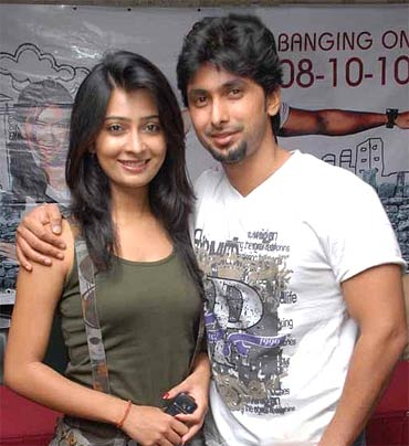 Radhika Pandit and Tarun