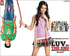 Movie poster of Luv Ka The End