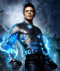 Shah Rukh in Ra.One