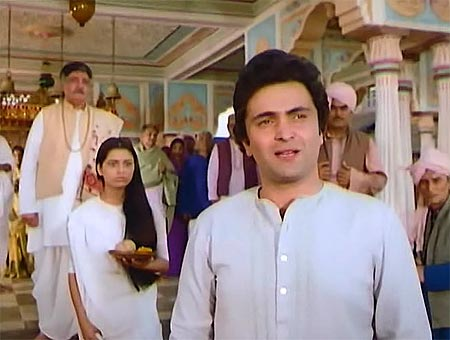 A scene from Prem Rog