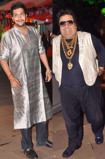 Bappi Lahiri and Bappa Lahiri