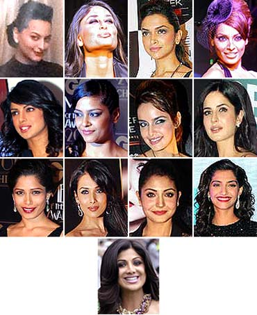 Vote! Who wears the sexy black dress best?