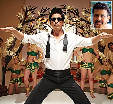 A still from Ra.One. Inset: Anubhav Sinha