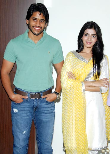 Chaitanya and Samantha