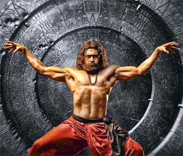 A still from 7 Aum Arivu
