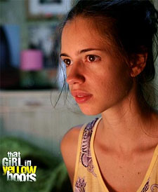 A still from That Girl In Yellow Boots