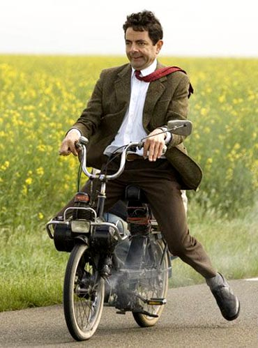 Rowan Atkinson as Mr Bean