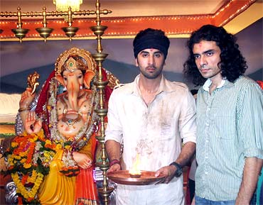 Ranbir Kapoor and Imtiaz Ali