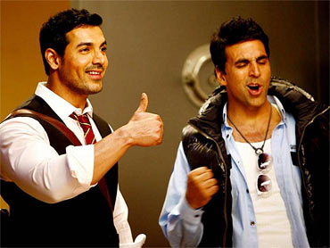 A still from Desi Boyz