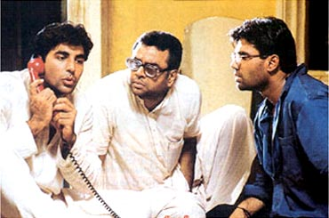 A still from Hera Pheri
