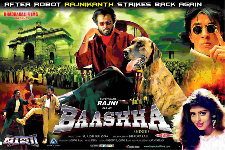 Movie poster of Baashha