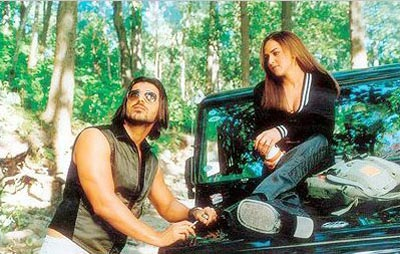 John Abraham and Esha Deol in Kaal