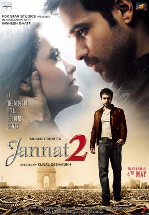 Movie poster of Jannat 2