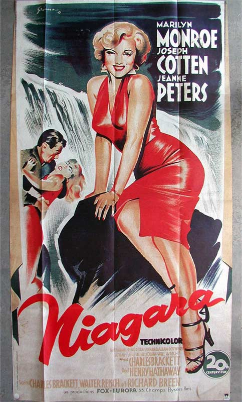 Movie poster of Niagara