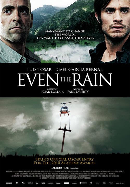 Movie poster of Even The Rain