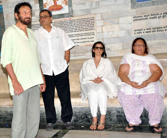 Shekhar Kapur, Subhash Ghai, Manisha Koirala and Ashok Mehta's wife