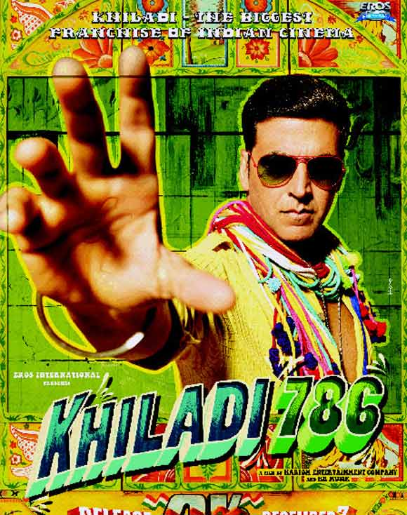 Akshay Kumar is fond of using the word Khiladi in his movie titles.