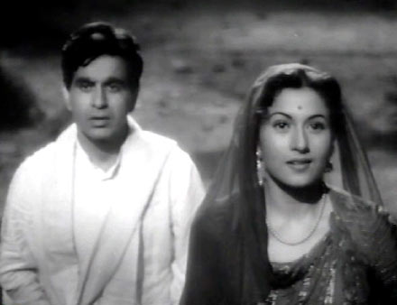 Dilip Kumar and Madhubala in Amar