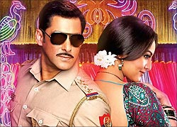 A scene from Dabangg 2