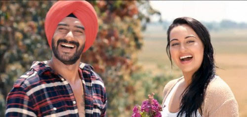 A scene from Son of Sardaar