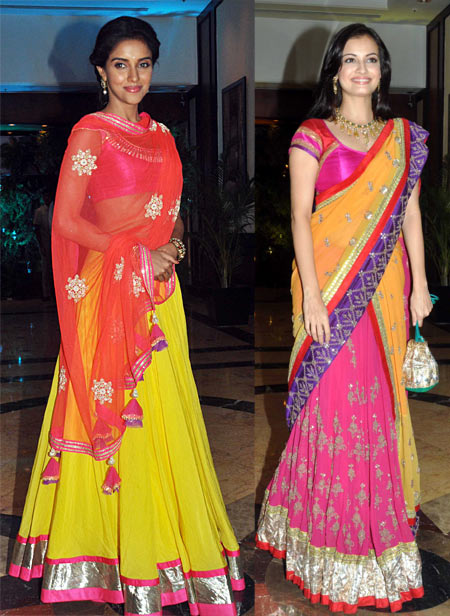 Asin and Dia Mirza