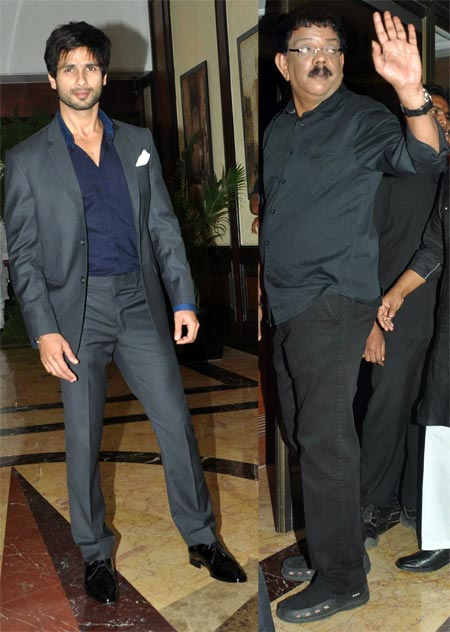 Shahid Kapoor and Priyadarshan