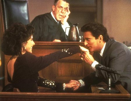 A scene from My Cousin Vinny