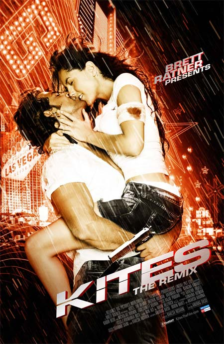 Movie poster of Kites