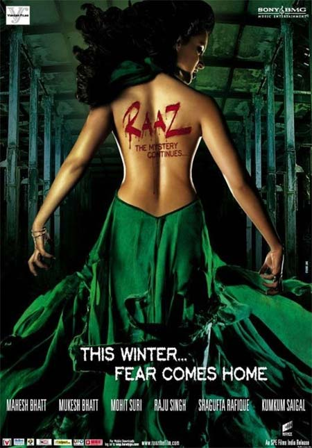 Movie poster of Raaz: The Mystery Continues
