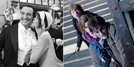 The Artist and Harry Potter and The Deathly Hallows 2