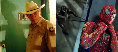 No Country For Old Men and Spiderman 3
