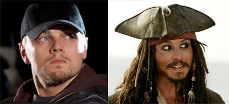 The Departed and Pirates of the Caribbean: Dead Man's Chest